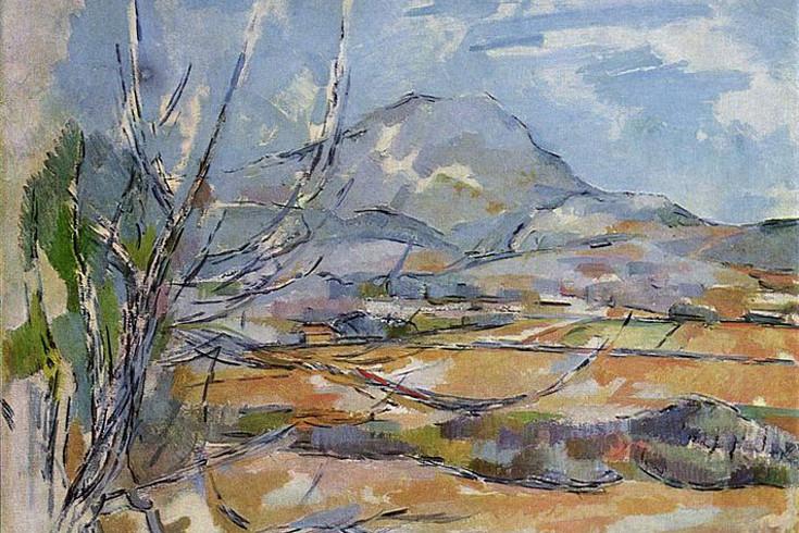 Mont Sainte Victoire, Paul Cezanne